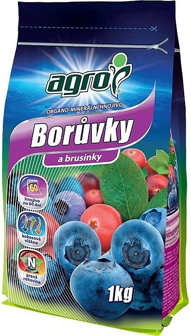 Agro Minerální hnojivo na borůvky a brusinky 1 kg