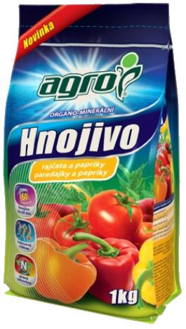 Hnojivo rajčata papriky AGRO 1kg